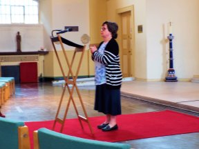 Many thanks to Ana Coelho for taking this image of me speaking at the Waterloo Arts Festival earlier this month.