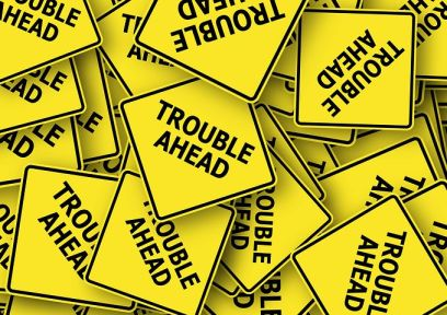 In the words of the song, there will be trouble ahead - Pixabay