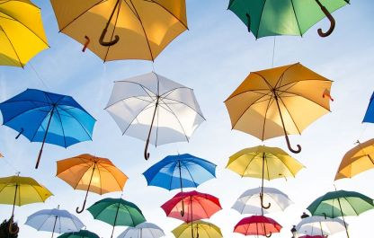 My late mum's wish for rain to only fall at night would not help the umbrella making industry - Pixabay