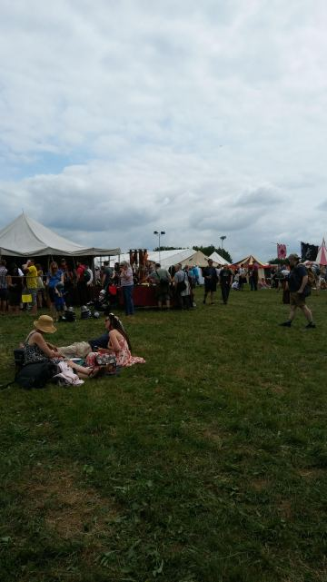 This is only a very small section of the Tewkesbury Medieval Fair
