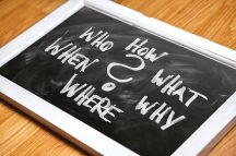 This sums up the questions asked at school but they are useful for writers too - Pixabay
