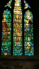 The more you looked at this amazing stained glass window, the more you saw in it. Image by Allison Symes