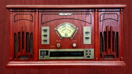I have a music system similar to this including radio, CD, vinyl and even tape - Pixabay