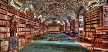 Another gorgeous library. I love pics like this.