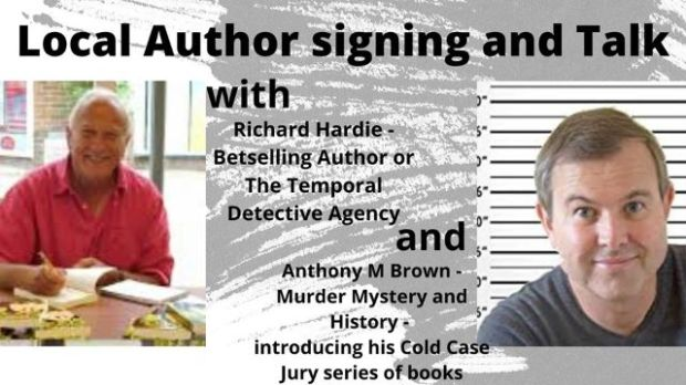 Author signing and talk at Hiltonbury Farmhouse