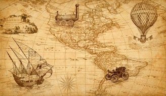 Maps have a long history. Pixabay.