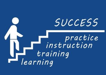 Useful steps on the road to success