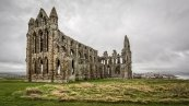 Whitby Abbey - historical in itself but also with a strong literary past - it is the setting for Bram Stoker's Dracula