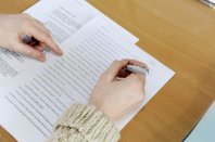 Despite advances in technology, it pays to edit on paper, you miss things on screen