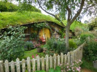 LOTR - the films brought the book to life and I loved the depiction of the hobbit holes - Pixabay