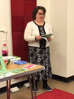 Many thanks to Dawn Kentish Knox for this image of me reading from FLTDBA