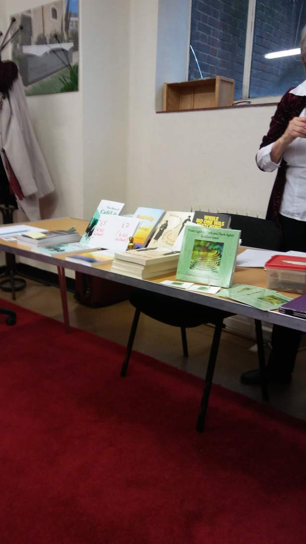 The bookstall - image by Allison Symes