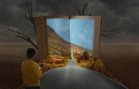 All forms of fiction and non-fiction, short or long, will take you into different worlds and sometimes back and forward in time too