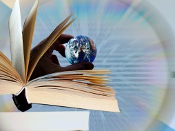 Books can show you the world - the one you know and so many others you don't