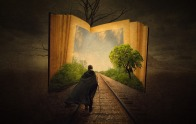 I hope it won't be long before I happily lose myself in a good book again