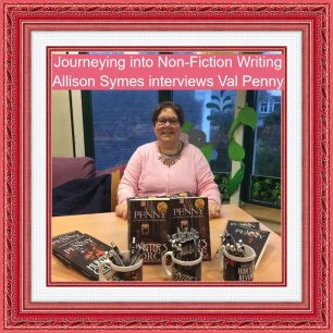 Feature Image - Journeying Into Non-Fiction Writing - Val Penny