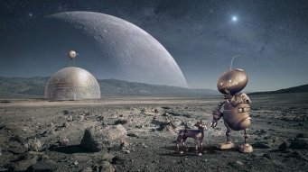 Stories told from the viewpoint of alien characters have a big appeal