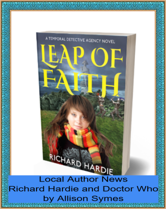 Feature Image - Local Author News - Richard Hardie and Doctor Who