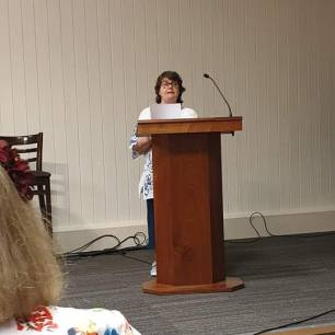 Many thanks to Penny Blackburn for this image of me reading at another Open Prose Mic Night at Swanwick.