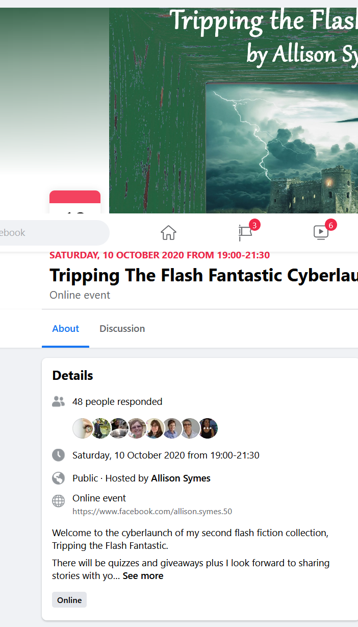Screenshot_2020-10-02 Tripping The Flash Fantastic Cyberlaunch Facebook