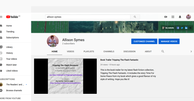 Screenshot_2020-10-31 Allison Symes - YouTube