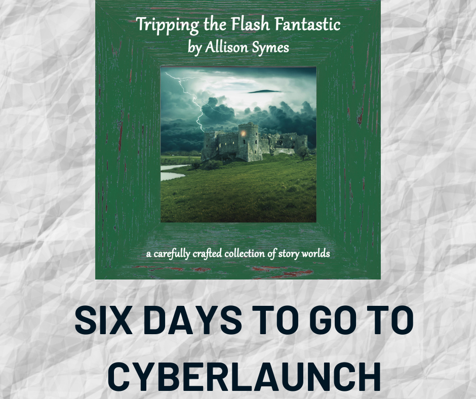 SIX DAYS TO GO TO CYBERLAUNCH