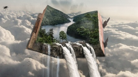 Themes pour out of good books - image via Pixabay
