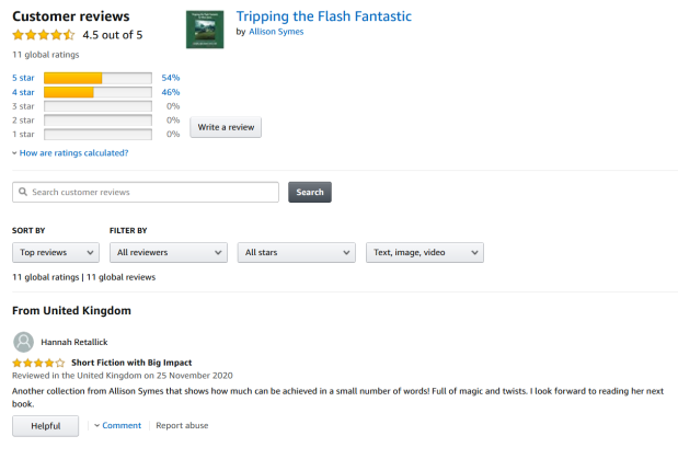 Screenshot_2020-11-25 Amazon co uk Customer reviews Tripping the Flash Fantastic