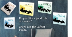 CafelLit is a wonderful online writing community and very supportive. Image created by Allison Symes using Book Brush.