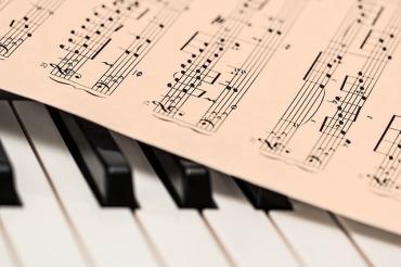 Classical Music Score - image via Pixabay