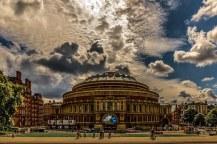 Home of the world famous proms, the Royal Albert Hall - image via Pixabay