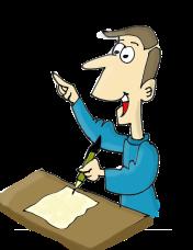 Writer at work via Pixabay