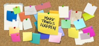 Writing exercises do make things happen - they help you get a first draft down