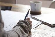 Writing exercises encourage you to think outside the box