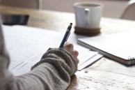 Writing exercises encourage you to think outside the box