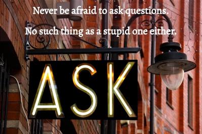Ask away