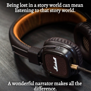 AE - Being lost in a story world can mean listening to it