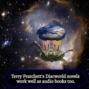 AE - Discworld works well on audio