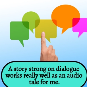AE - Strong on dialogue