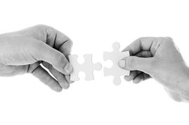 FINDING IDEAS - Putting a story together is like putting a jigsaw together - do all your ideas fit together well