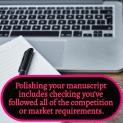 Polishing your manuscript