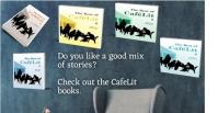 Cafelit books - Book Brush mock up