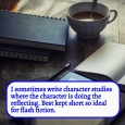 Character studies - where the character does the reflecting
