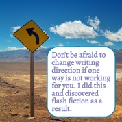 Don't fear changing writing direction