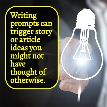 Prompts can trigger ideas you might not have thought of otherwise