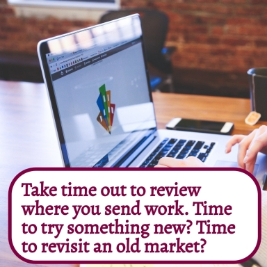 Take time out to review where to send work