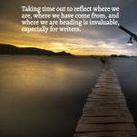 Taking time out to reflect