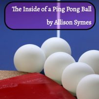The Inside of a Ping Pong Ball by Allison Symes