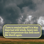 Wild Weather in May