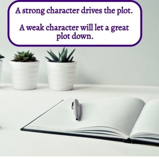 AE - July 2021 - A great character drives the plot